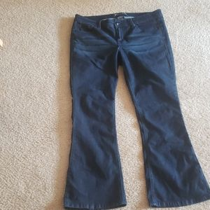 Torrid Source of Wisdome flare jeans-size 16